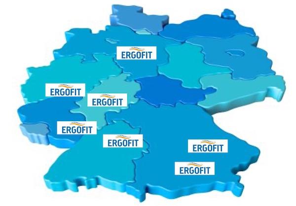 ERGOFIT Standorte in Deutschland